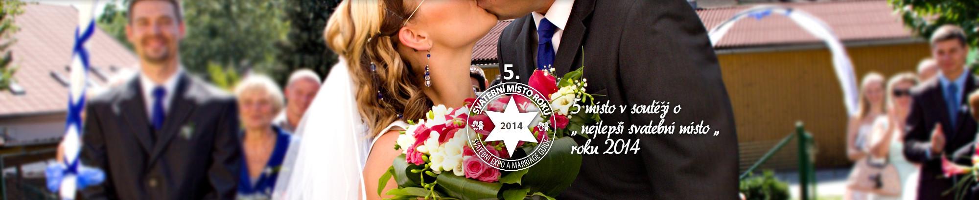 5. místo - svatební místo roku